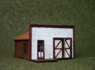 3031 N Scale Main Street Shop Bausatz