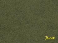 8207 Polak FLOCKDEKOR mittel - dunkelgrün, 2mm