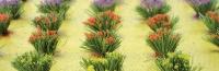 95581 HO Detachable Flower Bushes, blühende Büsche