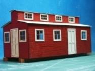 1019 Spur O Logging Bunk House Kit