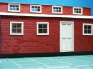 1019 Spur O Logging Bunk House Bausatz