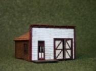 2031 HO Main Street Shop, Bausatz