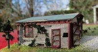 2054 HO Redneck Garage, Bausatz