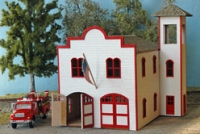 NE30023 Springfield Fire Station Kit