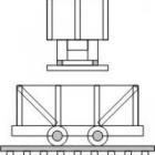 20013 N,  4-Ton Mine Car Bausatz, 3 Minenwagen Standmodelle