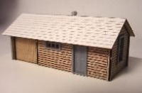 331 FVM Scale N Kit Section House Bausatz