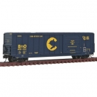 81906 50 Canstock Boxcar Chessie System/B&O #480826