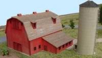 0304 N Elis Barn & Silo, Bausatz
