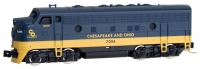 98001402 Chesapeake & Ohio F7 A Unit