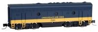 98002402 Chesapeake & Ohio F7 B Unit