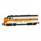 98001422 Western Pacific F7 A Unit