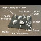 45 N Standard Service Truck/Machine Shop Tools Bausatz unbemalt