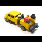 4026 Z I Class Crew Cab Equipment Service Truck Bausatz unbemalt