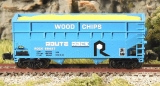 FT 3402 Offset 2 Bay Woodchip Hopper ROCK NO# 89427 + 89448