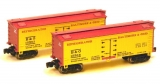 FT9005-2, Baltimore and Ohio Railroad Reefer, 34-Foot Woodside Reefers