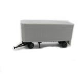 4016 Z 28 Flush Deck Pup Trailer Bausatz