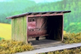 96502 N Wooden Passenger Shelter, Kit