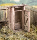 98501 Toilettenhäuschen Bausatz