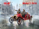 Model T 1914 Fire Truck with Crew, Bausatz