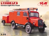 35527, L1500S LF 8, German Light Fire Truck in 1:35, Kit