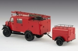 35527, L1500S LF 8, German Light Fire Truck in 1:35, Bausatz