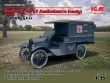 35665, Model T 1917 Ambulance (early), WWI AAFS Car, Kit