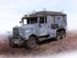 35467  Henschel 33 D1 Kfz.72, WWII German Radio Communication Truck in 1:35, Kit