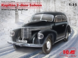 35476 Kapitän 2-door Saloon, WWII German Staff Car, Kit