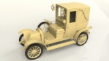 London Taxi AG 1910, ICM 24031, Bausatz