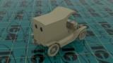Gasoline Delivery, Model T 1912, ICM 24019, Bausatz mit Figuren