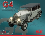 24012 Typ G4 with open cover, WWII German Personnel Car, Bausatz,