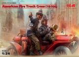 American Fire Truck Crew (1910s) (2 figures), Bausatz, 24006