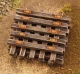 48502 HO Schwellen, wooden Sleepers