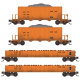 993 02 010 Amtrak® MOW Weathered 4-Pack