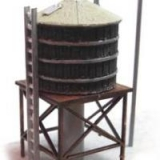 20093 N Wooden Water Tank, Bausatz
