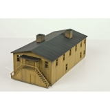 499 90 952 Civil War Era Mess Hall Bausatz
