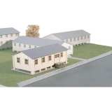 799 90 915 Military HQ Building Bausatz