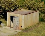 98509 Old garage HO Bausatz