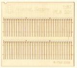 PL8-001 Wooden fence, Holzzaun  1:87