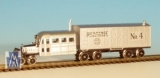 30087 RTR Nn3 R.G.S. Galloping Goose No.4 silver / R.G.S