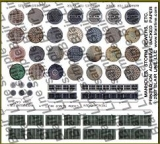 162 HO Manhole covers and storm drains, Gullydeckel