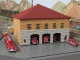 003 N 3 bay New York firehouse Bausatz