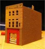 Z05 Z Scale FDNY Squad 18 firehouse, Kit
