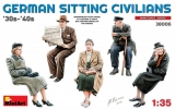 38006 German Sitting Civilians30s-40s in 1:35 [6469006], Bausatz