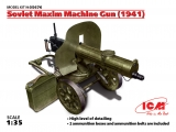 35676 Soviet Maxim Machine Gun 1941 in 1:35 [3315676], Bausatz