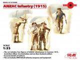 35685  ANZAC Infantry 1915 in 1:35 [3315685], Bausatz
