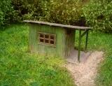 91517 TT Garden house, Gartenhaus, Bausatz