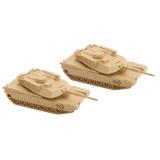 499 45 901 N M1 Abrams Tank 2pk, Bausatz
