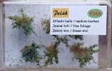 9366 Mittlere Sträucher - feine Blätter - Grüne Mischung 6 St