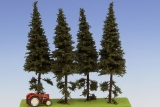 SK152 Spruce / Fichte with short trunk 150 mm (4x)